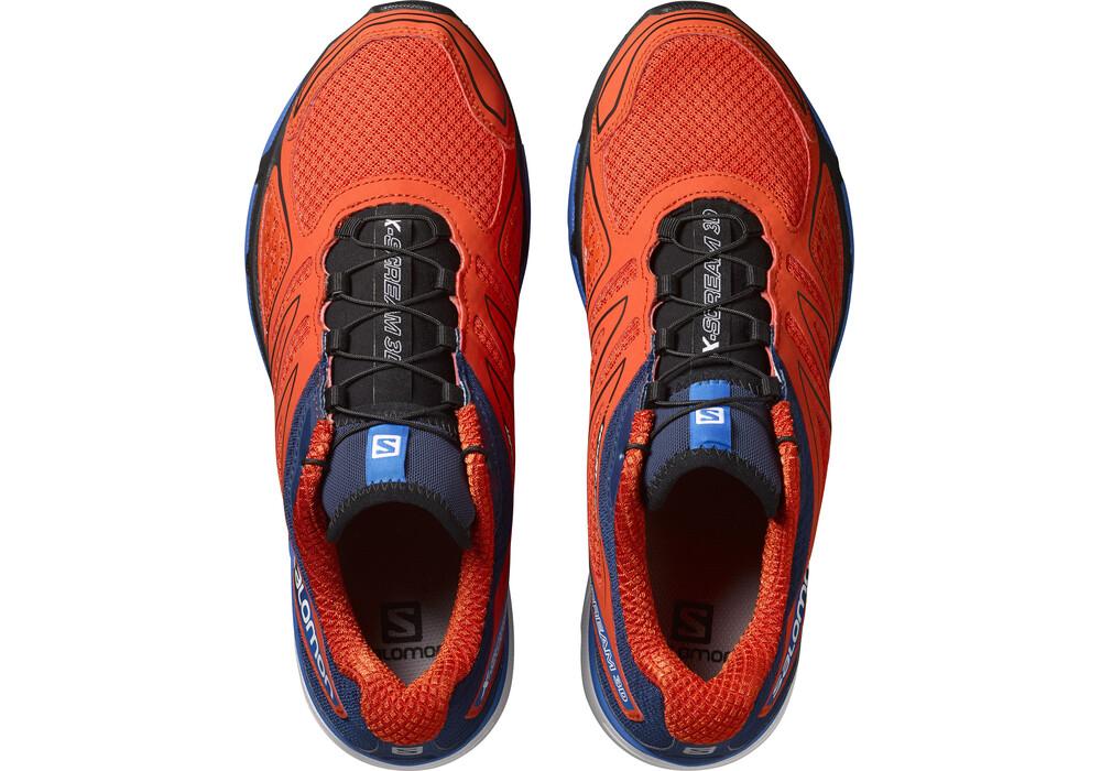 Salomon X Scream Black Running Shoes